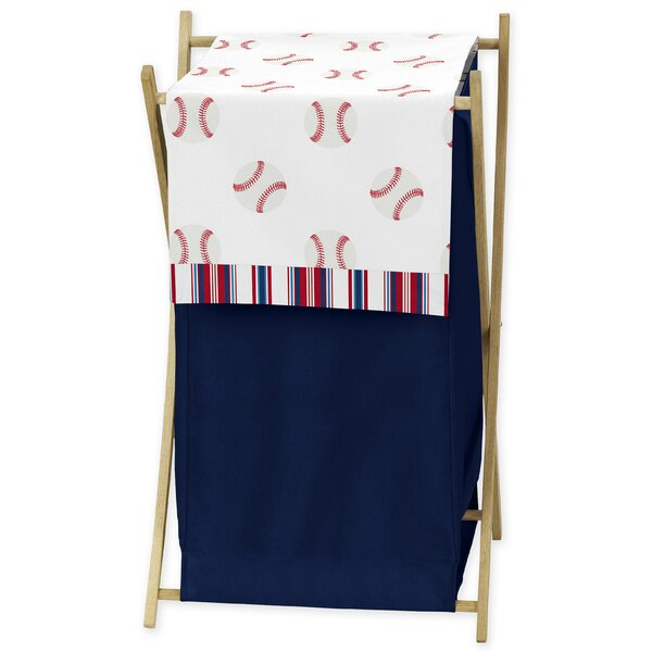 Baseball Patch 3 Piece Laundry Hamper Set by Sweet Jojo Designs