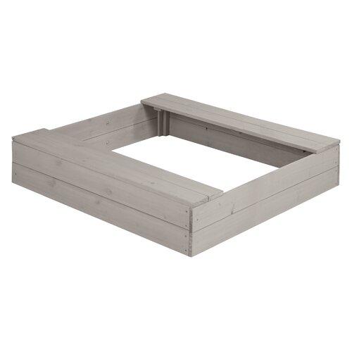 97|5 cm quadratischer Sandkasten roba | Kinderzimmer > Spielzeuge > Sandkästen | roba