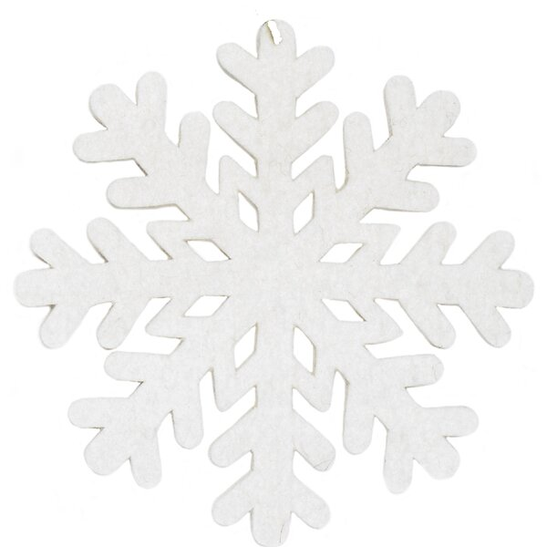 Hand Felted Snowflake Trivet (Set of 3) by Arcadia Home