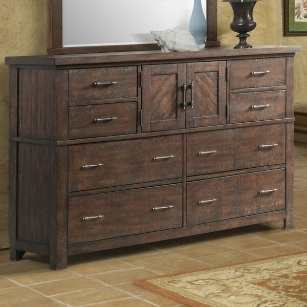 Ismay 8 Drawer Combo Dresser by Three Posts