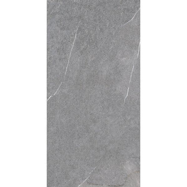 Lifestone 12 x 24 Porcelain Field Tile in Medium Gray by Madrid Ceramics