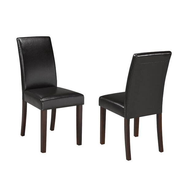 Schueler Upholstered Dining Chair (Set of 2) by Charlton Home