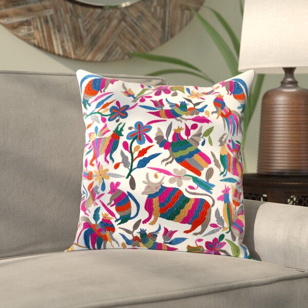 Ranjeeta Cotton Pillow Cover by Bungalow Rose