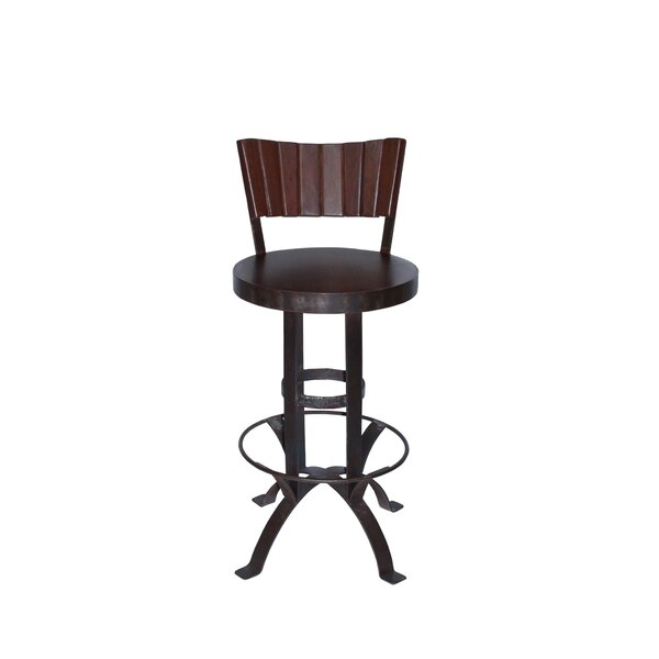Cuba 30 Swivel Bar Stool by Home and Garden Direct