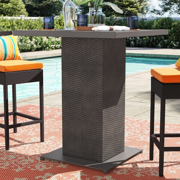 Stratford Bar Table By Sol 72 Outdoor