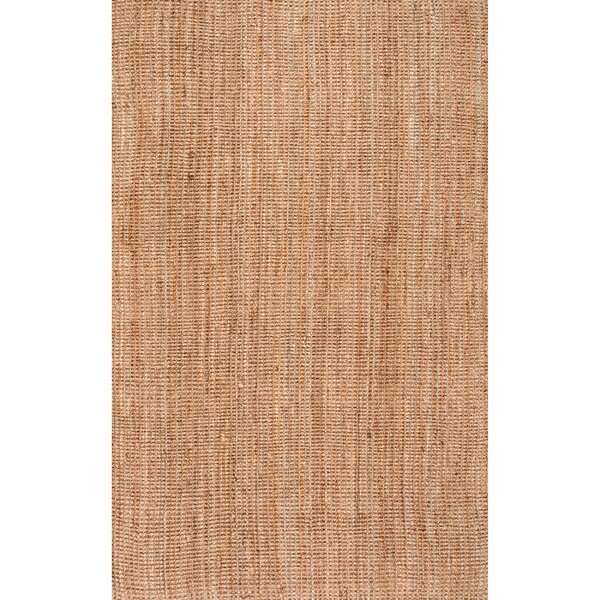 Montclair Hand-Woven Tan Area Rug by Beachcrest Home