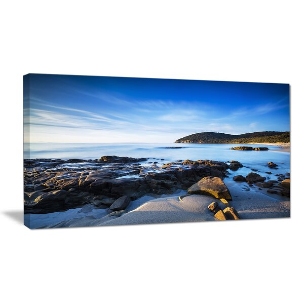 Cala Violina Bay Beach in Maremma Photographic Print on Wrapped Canvas by Design Art