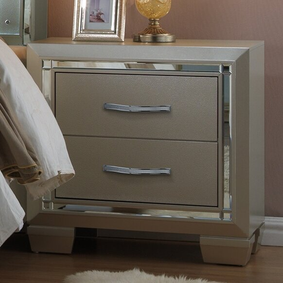 Toth 2 Drawer Nightstand by Rosdorf Park