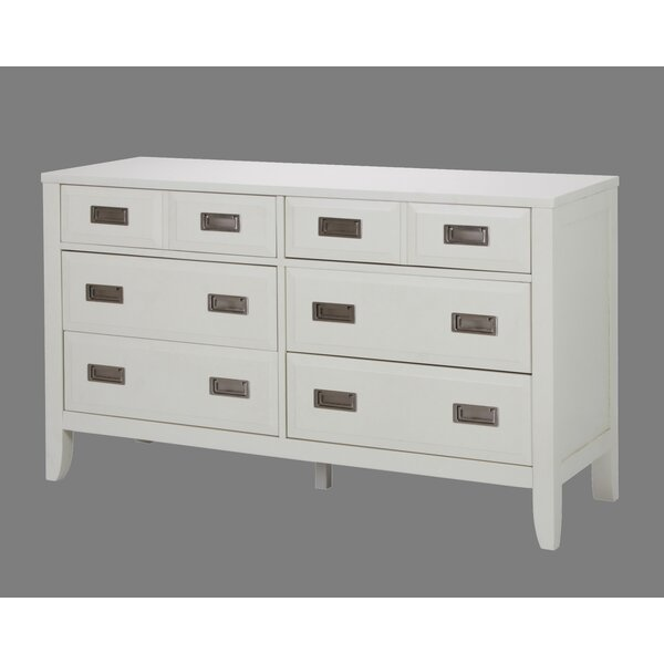 Poole 6 Drawer Dresser by Wrought Studio