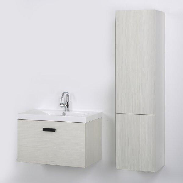 32 Wall-Mounted Single Bathroom Vanity Set by Streamline Bath