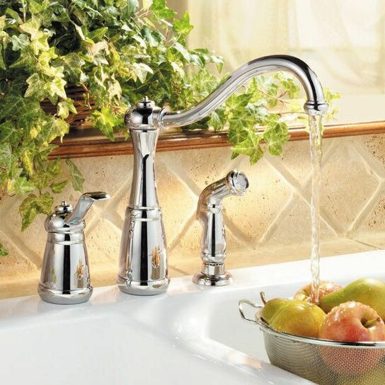 Marielle Kitchen Faucet with Side Spray by Pfister