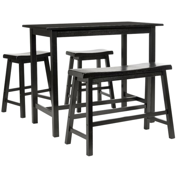 Chelsey 4 Piece Dining Set by Trent Austin Design