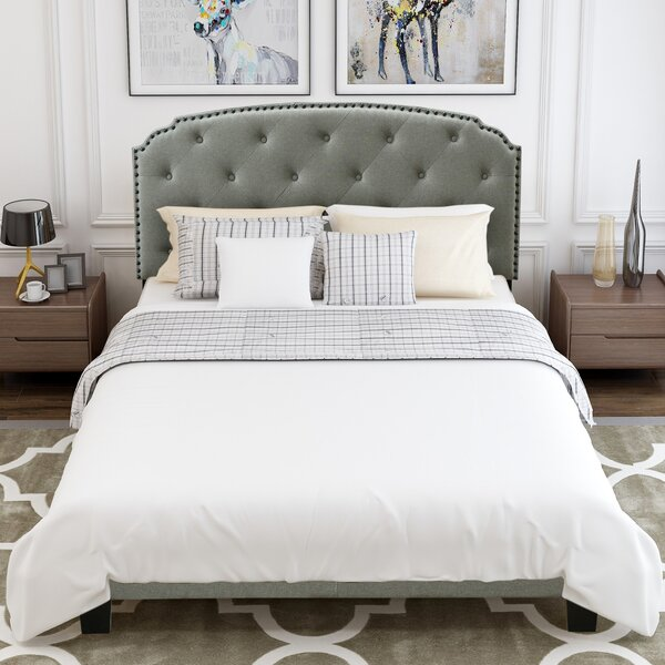 Worksop Queen Upholstered Platform Bed by Canora Grey