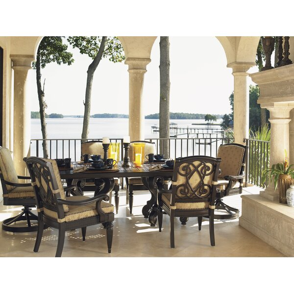 Kingstown Sedona Aluminum Dining Table by Tommy Bahama Outdoor