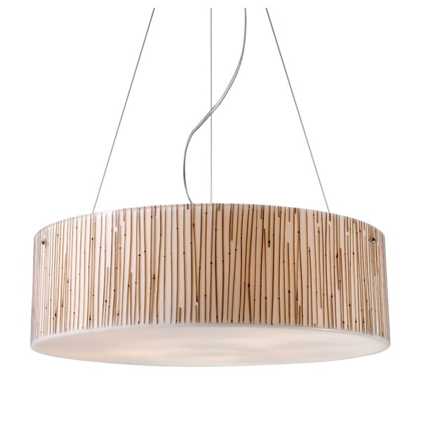 Panama City 5-Light Drum Chandelier by Bay Isle Home