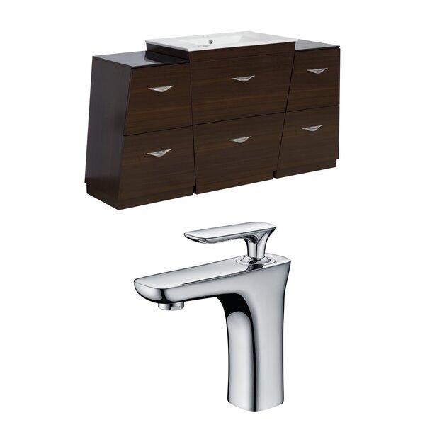 Mcreynolds 56 Single Bathroom Vanity Set