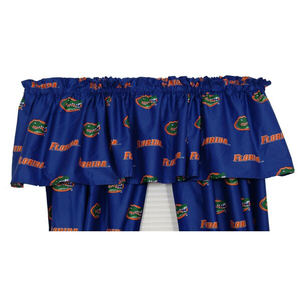 NCAA Florida Printed Rod Pocket Curtain Valance by College Covers