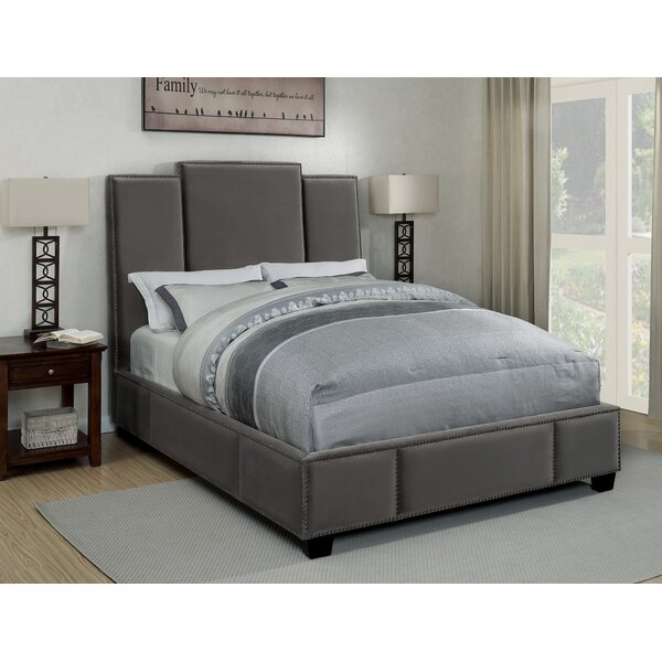Kopec Upholstered Standard Bed by Everly Quinn