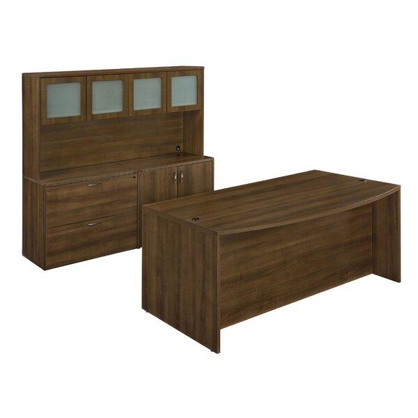 Fairplex 6-Piece Standard Desk Office Suite by Flexsteel Contract