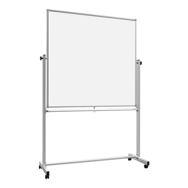 Magnetic Double-Sided Whiteboard, 48 x 48 by Offex