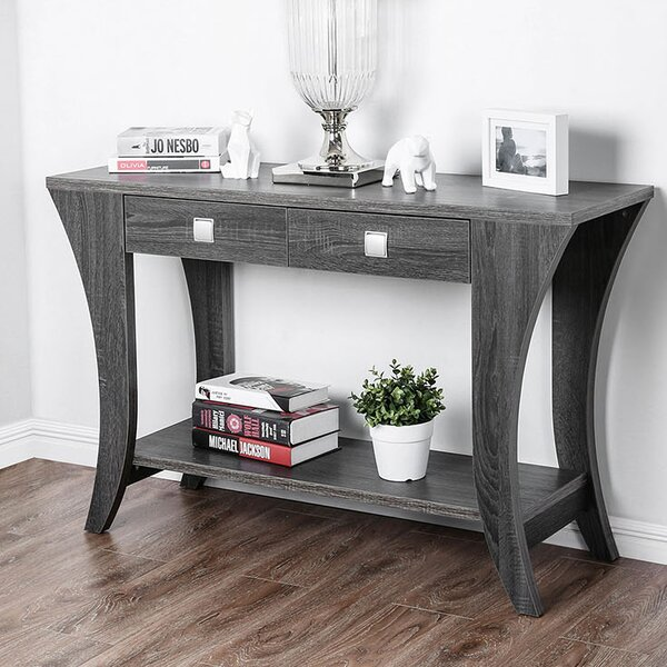 Pless Wooden Console Table By Winston Porter
