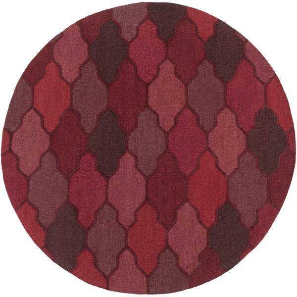 Galya Red Area Rug by Willa Arlo Interiors