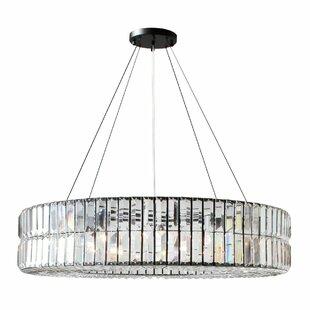 round light fixture diy jacques round 10light chandelier light fixture wayfair