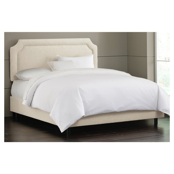 Amanda Upholstered Standard Bed by Skyline Furniture