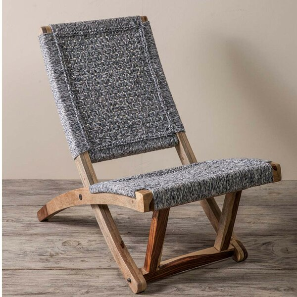 Adelphi Denim Patio Chair by Bungalow Rose