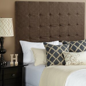 Dawn Full Upholstered Panel Headboard by Darby Home Co
