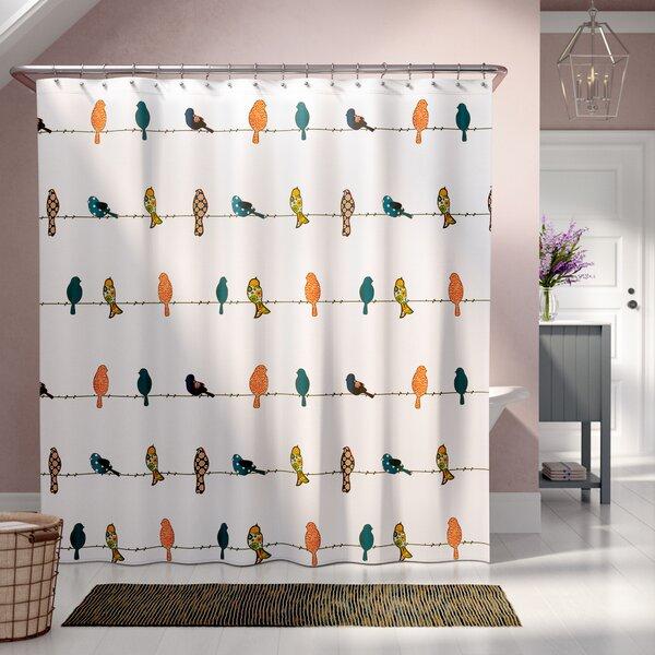 Recio Shower Curtain by August Grove