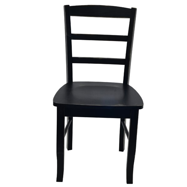 Briarden Solid Wood Dining Chair By Charlton Home