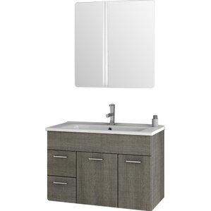Beaufiful 32 Bathroom Vanity Images 32 Inch Led Lighted Single Sink Bathroom Vanity With