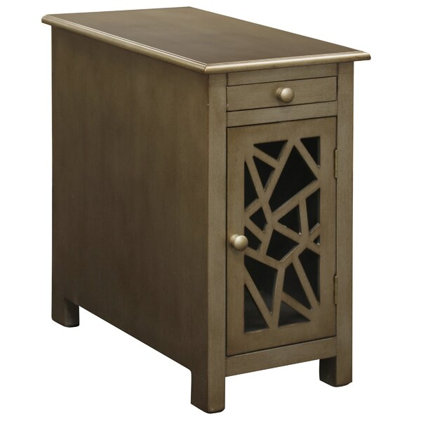 Fagaras End Table With Storage By Gracie Oaks Savings