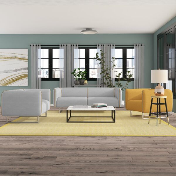 Alivia 3 Piece Living Room Set by Ivy Bronx