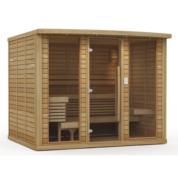 Goldstar 8 Person Traditional Steam Sauna by Premium Saunas