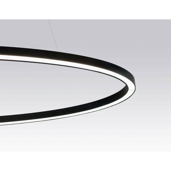 Messancy 1-Light LED Unique / Statement Geometric Chandelier By Orren Ellis