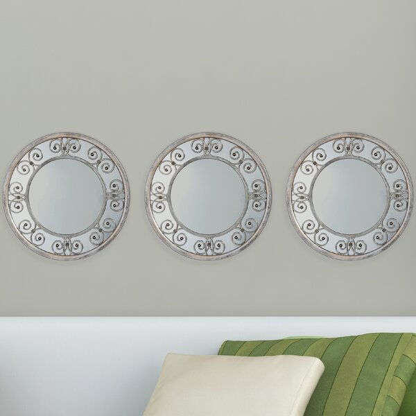 Deschambault Accent Mirror (Set of 3) by Lark Manor