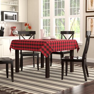 salerno buffalo plaid tablecloth