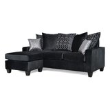 Rothermel 82 Reversible Sectional with Ottoman by Red Barrel Studio®