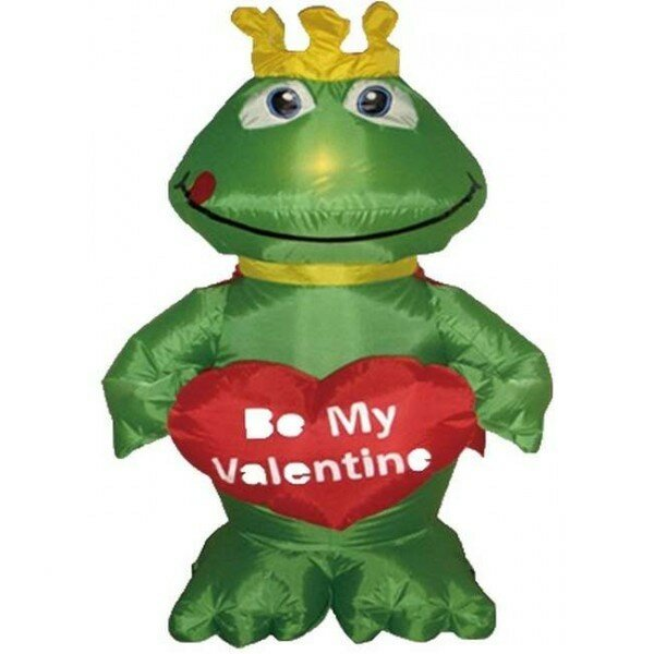 Inflatable Frog Prince Decoration by The Holiday A