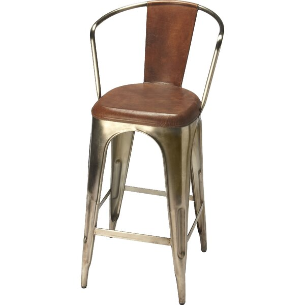 Wyrick 30 Bar Stool by 17 Stories