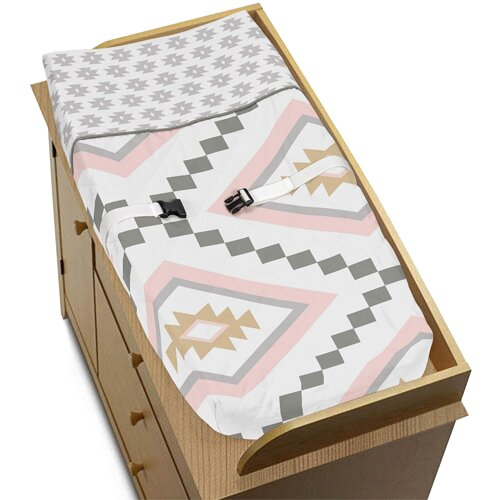 Aztec Changing Pad Cover by Sweet Jojo Designs