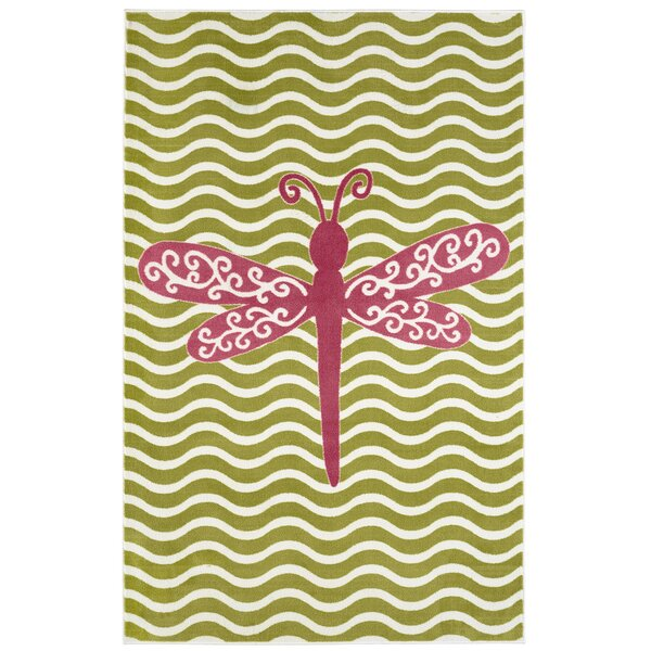 Brynn Dreamy Dragonfly Area Rug by Viv + Rae