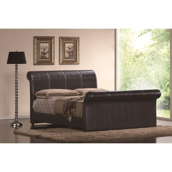 Otego Upholstered Sleigh Bed by Darby Home Co