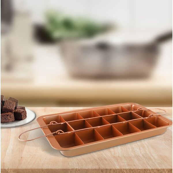 Non-Stick Brownie Baking Pan by Volar Ideas