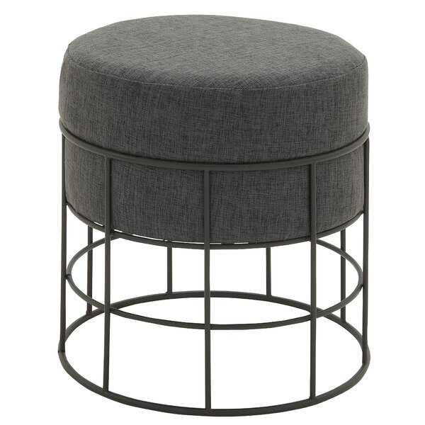 Ottoman with Cushion by Cole & Grey