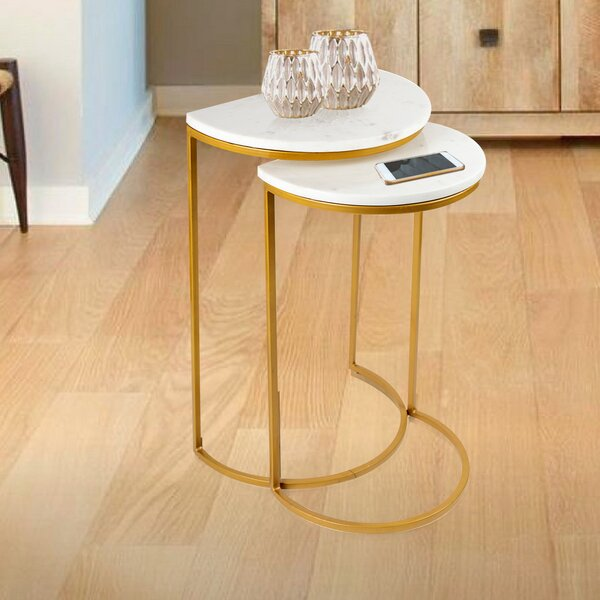 Rossford 2 Piece Nesting Tables By Mercer41