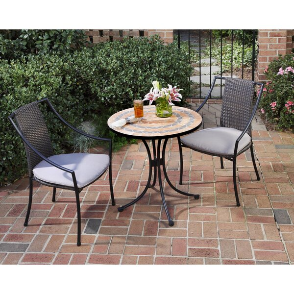 Severns Aluminum Bistro Set by Bloomsbury Market