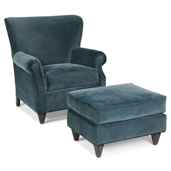 Hays Armchair and Ottoman by Fairfield Chair